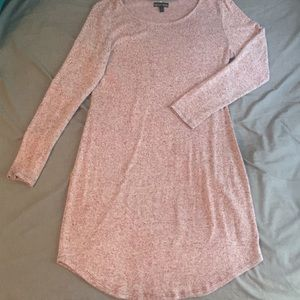 Fall long sleeve tunic dress L